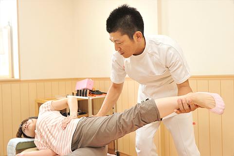 歩き方や体幹のトレーニング