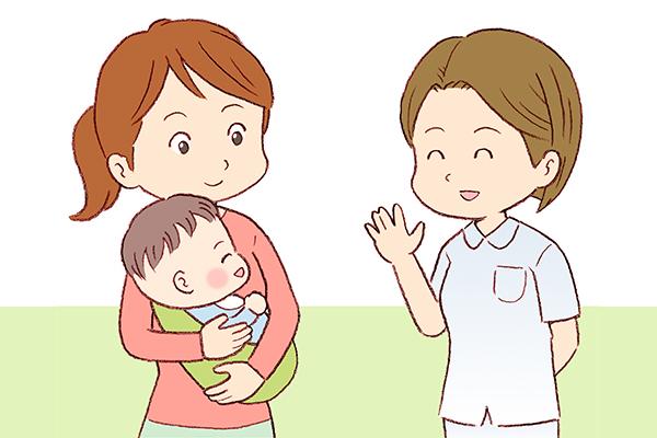 授乳や子育ての食事指導やアドバイス