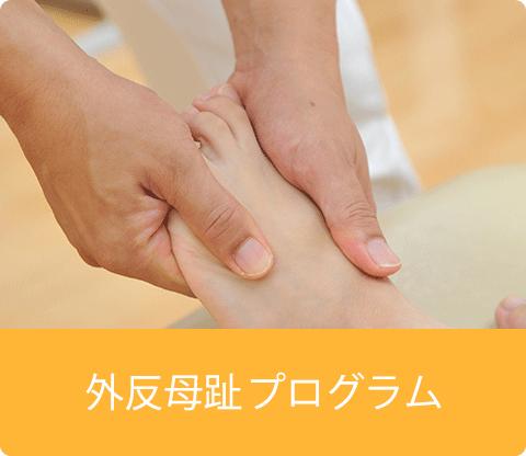 巻き爪・外反母趾矯正プログラム